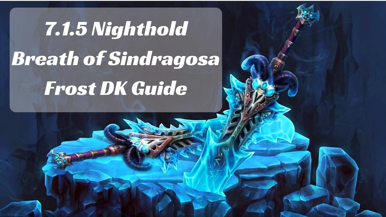 frost dk 7.3 guide