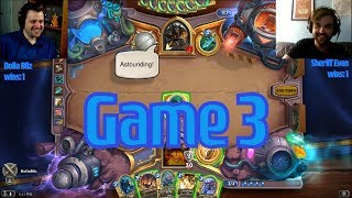 Whizbang: The Gilneas Armory vs I Hunt Alone - Hearthstone