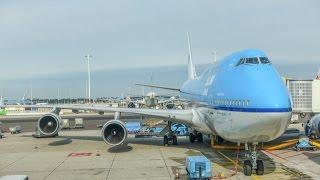 KLM Boeing 747-406M / Amsterdam to Houston