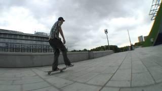 Daniel Labaig - Skate line - flip back tail nose slide bercy
