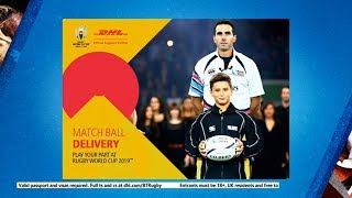 WIN the trip of a lifetime for the 2019 Rugby World Cup in Japan!