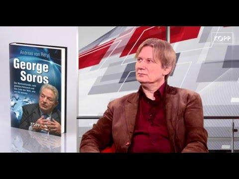 Buchvorstellung Andreas von Retyi zum Buch Soros