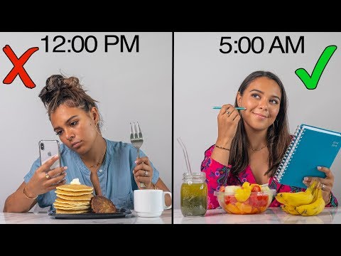 How to Wake Up EARLY & Be Productive! My Healthy Morning Routine!