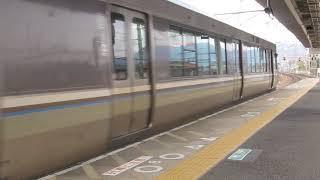 JR西日本 223系2000番台 普通 野洲行き 膳所駅  南草津駅  20190417