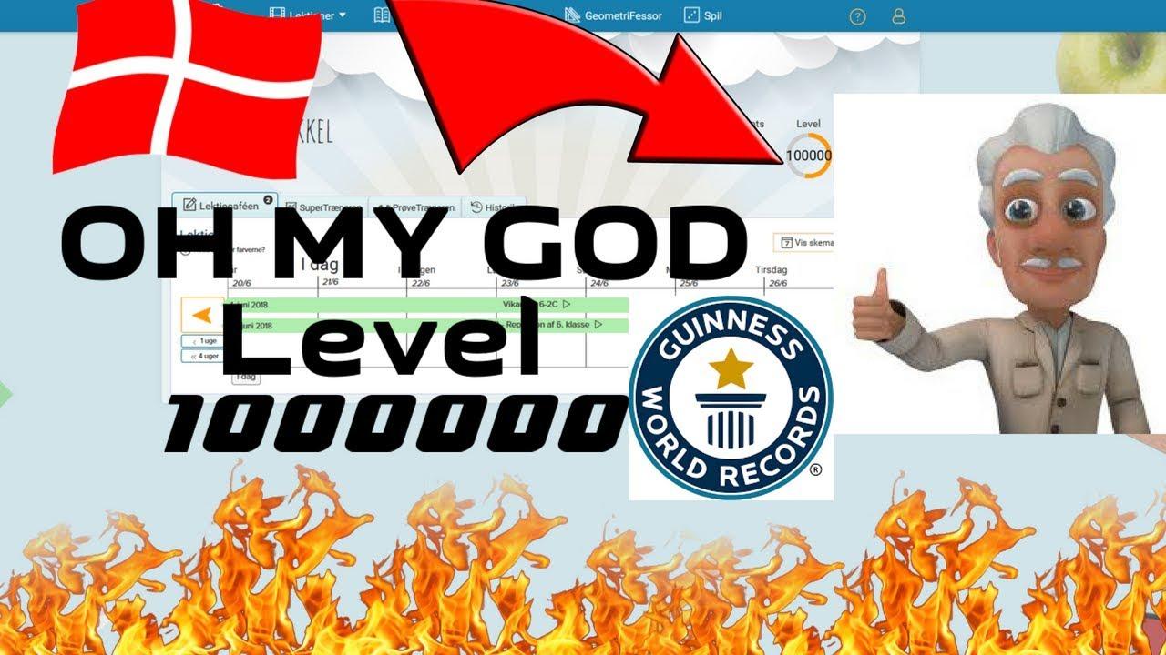 Matematikfessor Level 1000000! (Got banned) WORLD RECORD!