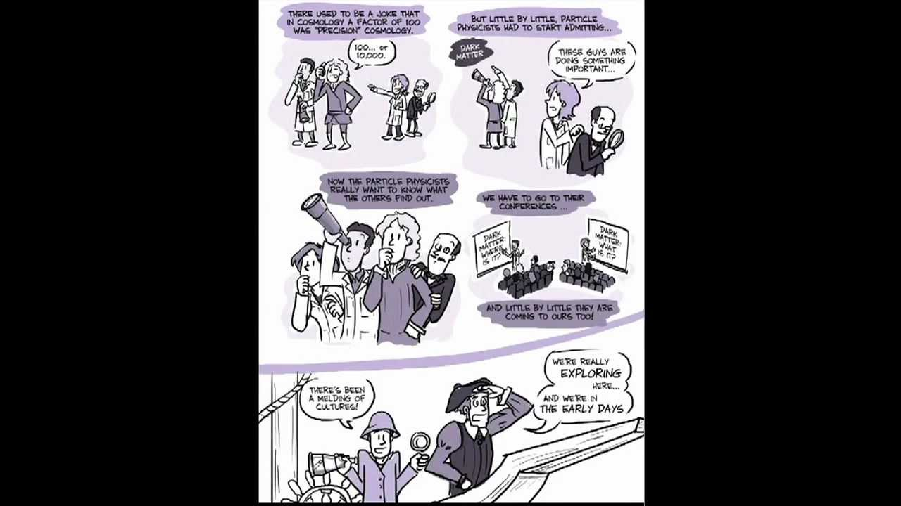 Dark Matter explained by Cartoon - YouTube