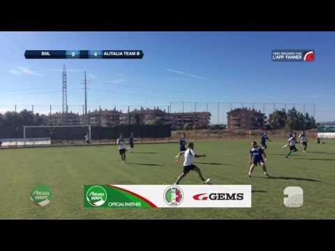 BNL - Alitalia Team B | Alitalia WAFC - Finale | Top Gol - Sannibale (Alitalia Team B)