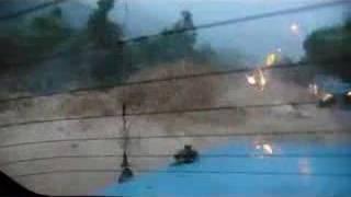 2008年6月7日 黑雨 東涌路 山洪暴發實錄1