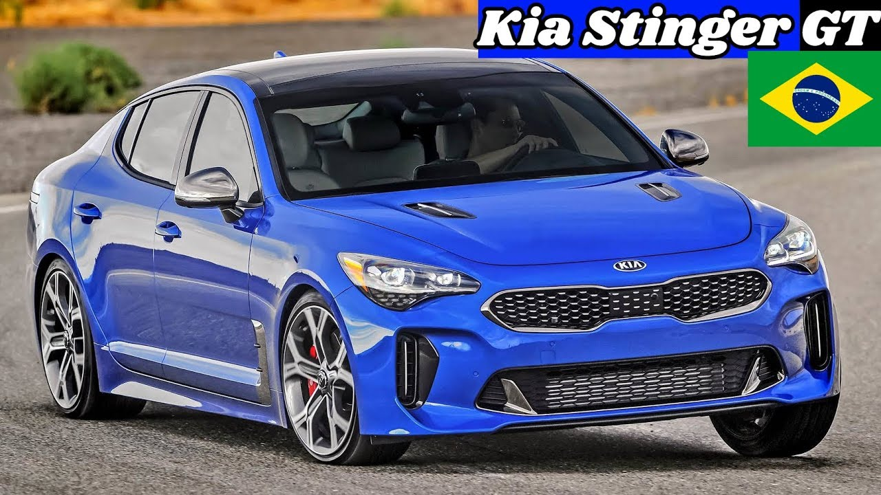 Novo Kia Stinger Gt 2019 Brasil Detalhes Preco E Motorizacao Top
