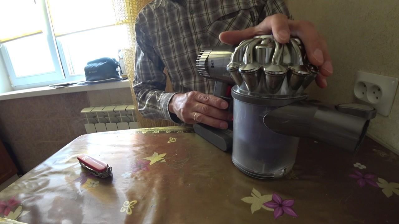 Пылесос дайсон ремонт своими руками
