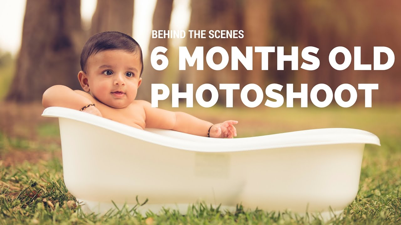 Behind the scenes 6 months baby boy mini photo session youtube