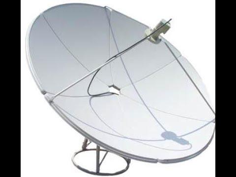 how to setup dish antenna