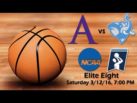 NCAA Division III Men's Basketball Elite Eight - Tufts Jumbos vs Amherst