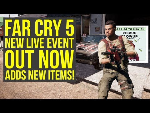Far Cry 5 Live Event PICKUP BLOWUP Out Now - Adds Cultist Outfit & More (Far Cry 5 Pickup Blowup)