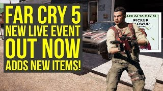 Far Cry 5 Live Event PICKUP BLOWUP Out Now - Adds Cultist Outfit & More (Far Cry 5 Pickup Blowup) thumbnail