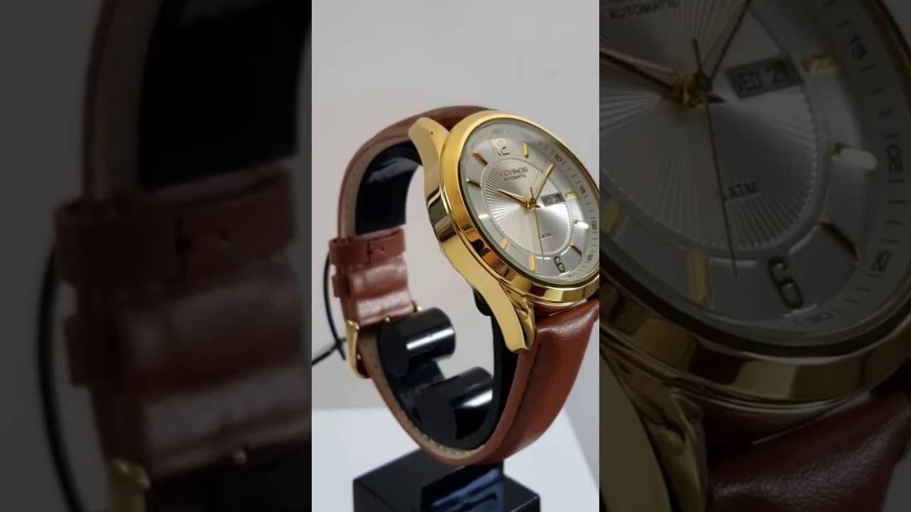 Relógio Masculino Automático 8205NL 2K Classic Technos Pulseira Couro Data  e Dia da Semana 7adf5b72ab