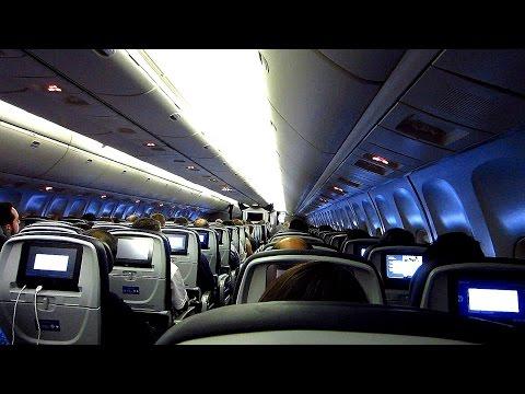 United Boeing 767-300ER São Paulo GRU to Houston IAH on aisle seat