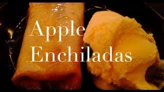 Diy: Apple Enchiladas ♡ Theeasydiy #chefjess