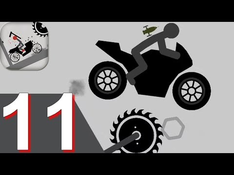 Stickman Falling Walkthrough Part 11 - Android Gameplay HD