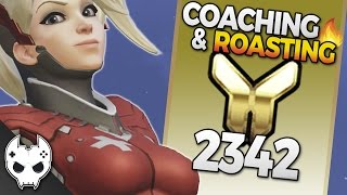 Overwatch Coaching and Roasting - Mercy - Gold 2342