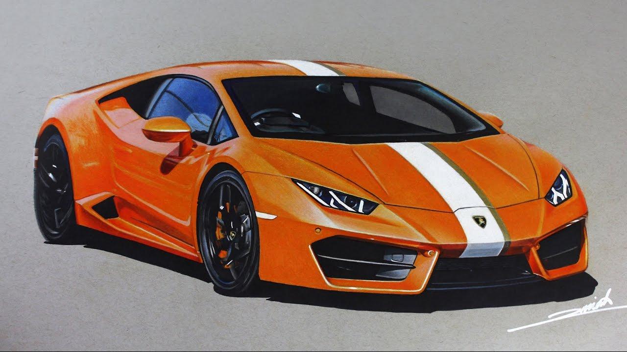 Lamborghini Huracan Supercars Of London Drawing Youtube