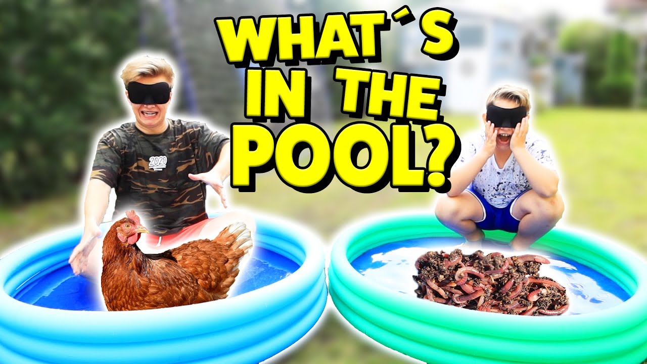 What's in the BOX - POOL Edition 🤣 Ash und Max
