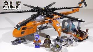 Lego City 60034 Arctic Helicrane / Arktis Helikopter Mit Hundeschlitten - Lego Speed Build Review