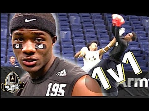 🔥🔥 U.S Army All-American Combine | WRs V DBs 1-on-1 | Part Two