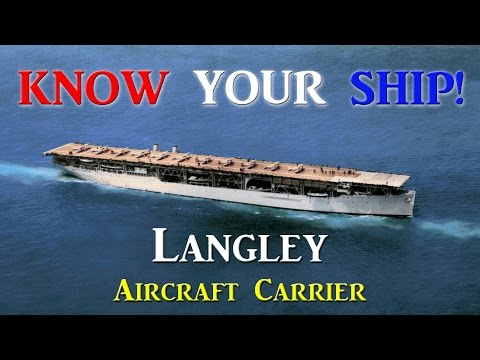 World of Warships - Know Your Ship #29 - Langley Aircraft Carrier