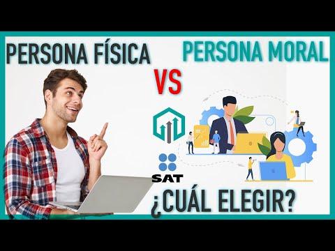 PERSONA FÍSICA O PERSONA MORAL ¿CUÁL ES MEJOR Y CUAL ELEGIR?   Impuestos en México
