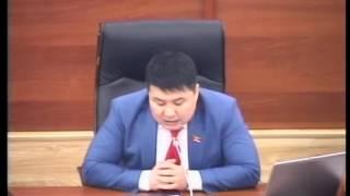 Выступление депутата Тазабека Икрамова
