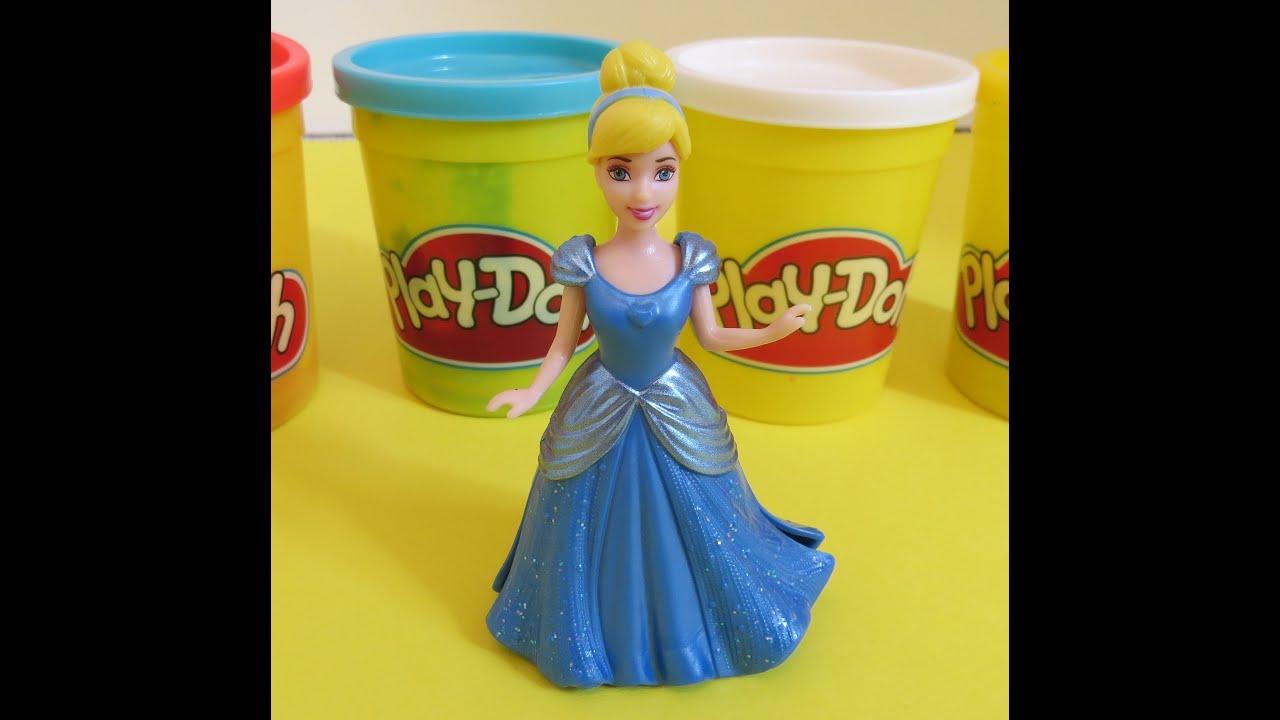 Disney Princess Cinderella Fairytale 2017 Opening How To Make A Handbag With Play Doh Playdough
