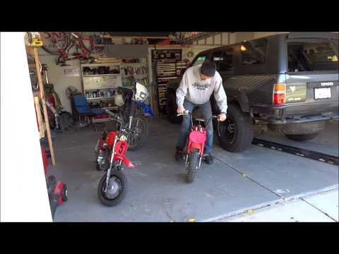 Talking About My Old Honda Z50R Minibikes