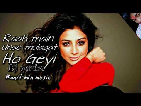 Raah Main Unse Mulaqat Ho Geyi Dj Remix,Kumar Sanu, Alka Yagnik's Song. Bollywood Hit Song