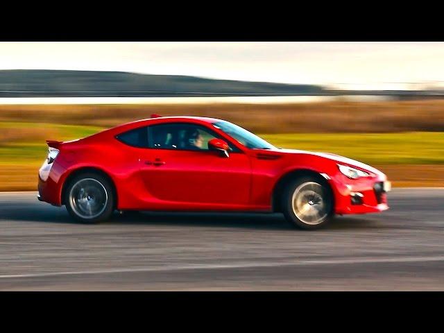 Механика против Автомата! Тест драйв и обзор Subaru BRZ (Toyota GT86 / Scion FR-S) 2015-2016