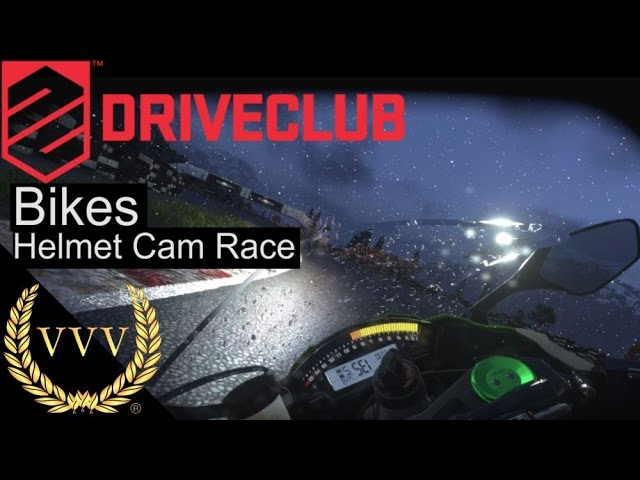 Driveclub Bikes Helmet Cam Race