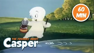 Casper the Friendly Ghost 👻1 Hour Compilation 👻Full Episode 👻Kids Cartoon