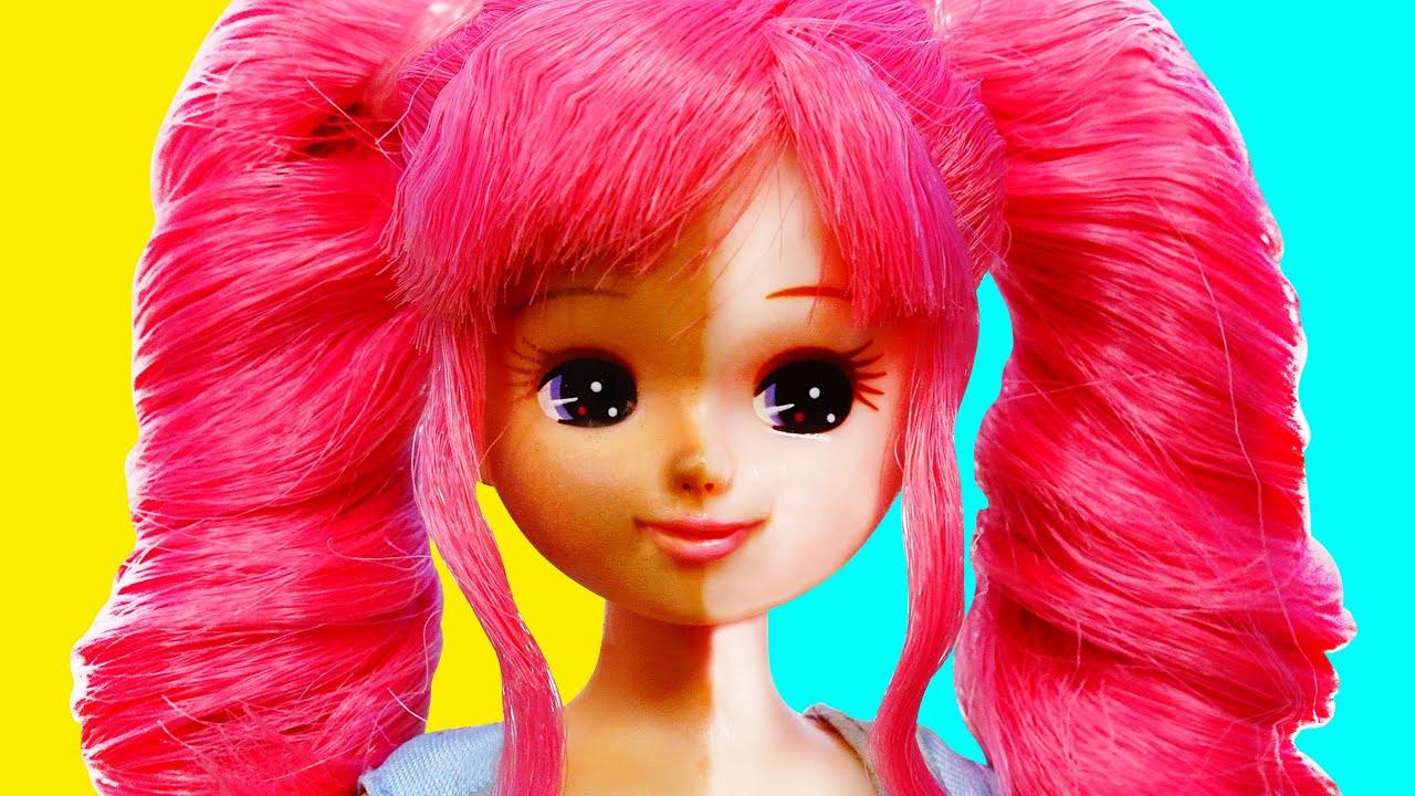 リカちゃん 夏コーデを手作り工作❤️帽子とバッグをDIY✨100円ショップの材料で作っちゃお🍭おもちゃ 人形 アニメ