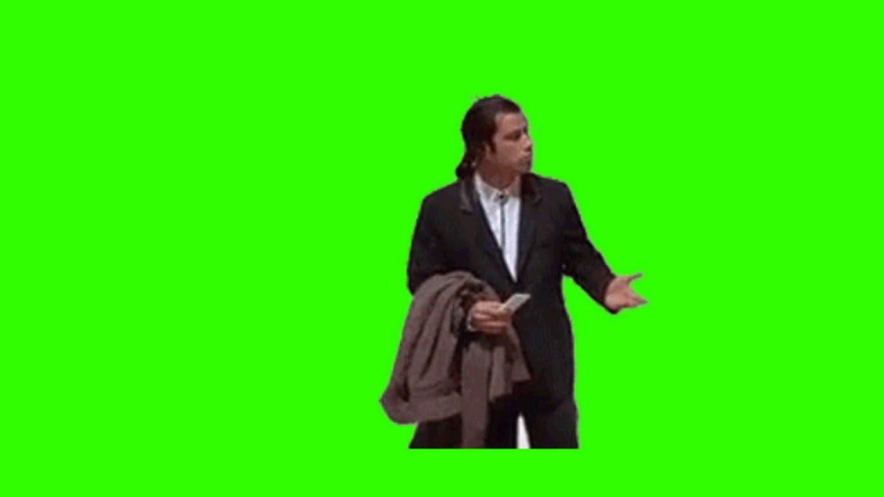 Mlg Hd Wallpaper Meme John Travolta Confundido Confuced Pantalla Verde