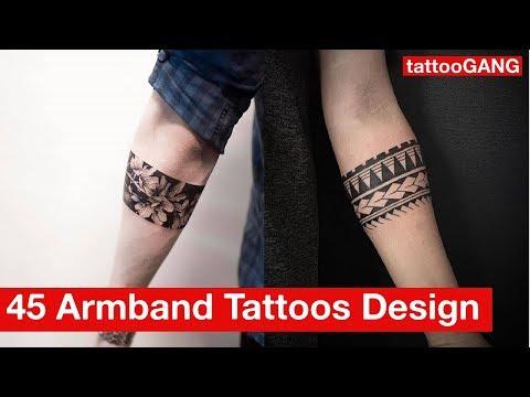 45 Armband Tattoos Designs For Men & Women