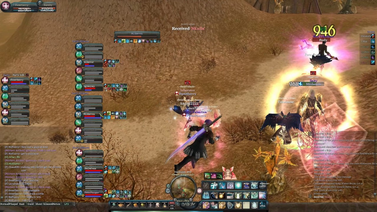 Hel Aika Online PVP on 3-4-17 at 10:29PM, Mildseven had an Awesome TD