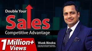 Sales Training Videos in Hindi, Competitive Advantage in Business Marketing by Vivek Bindra thumbnail