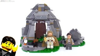 LEGO Star Wars The Last Jedi Ahch-To Island Training review! 75200