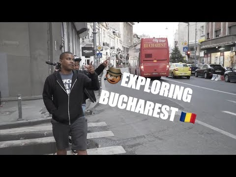 Exploring Bucharest...And A Girl Who's Never Heard of NWA (Romania Travel Vlog)