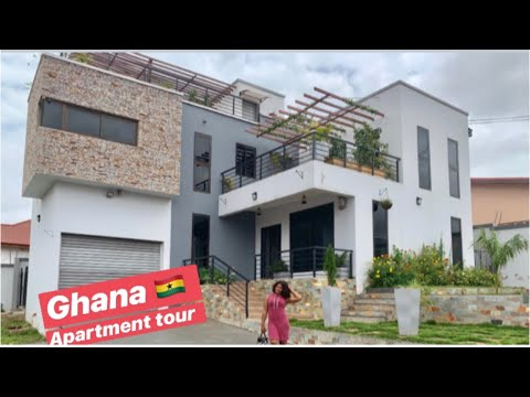 MY GHANA APARTMENT TOUR | AIRBNB APARTMENT TOUR | HILL VIEW RESIDENCE