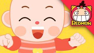Peekaboo song | Good habits song | Nursery rhymes | REDMON