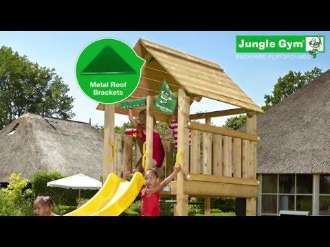 jungle gym assembly doovi. Black Bedroom Furniture Sets. Home Design Ideas