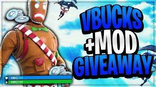Giveaway Merry marauder + mod (1000) vbucks - creator code : Malikgang_306 - fortnite nl