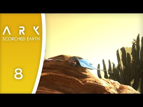 Scorching heat  Let's Play ARK: Scorched Earth 8
