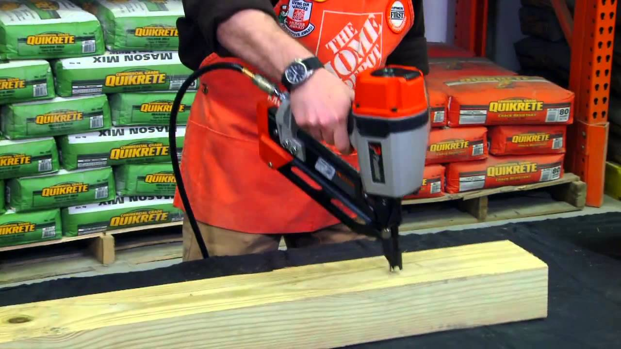 paslode compact framing nailer the home depot
